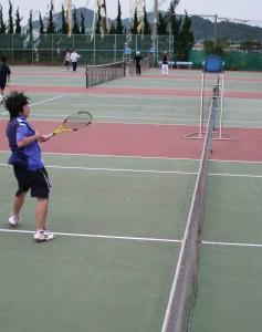 テニス試合-3