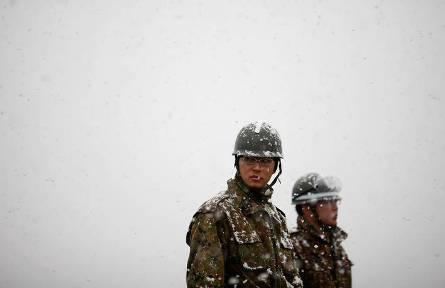 JGSDF in snow