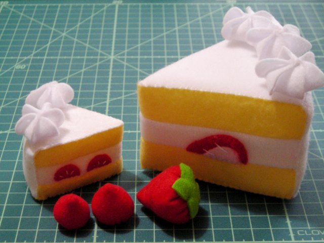 miniショートケーキ 試作品