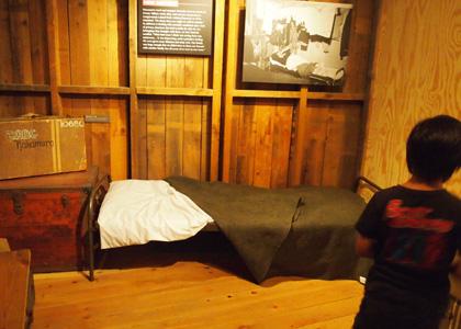 当時のベッド