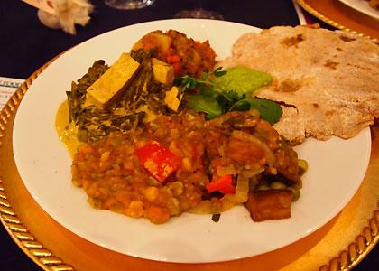 ビーガンのインド料理