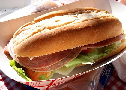 サブマリンサンドイッチ