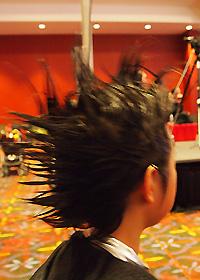 スパイキーヘア