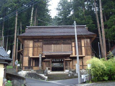 熊野神社の舞台