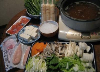 にらきりたんぽ鍋 (8)