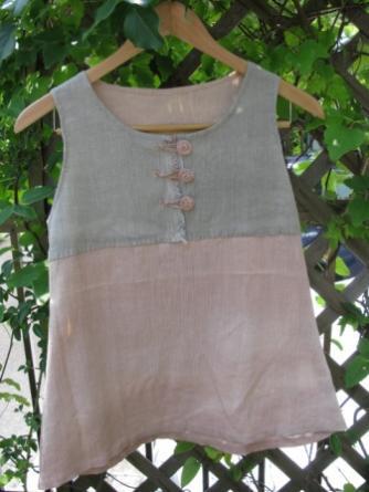 桜と蓬の服