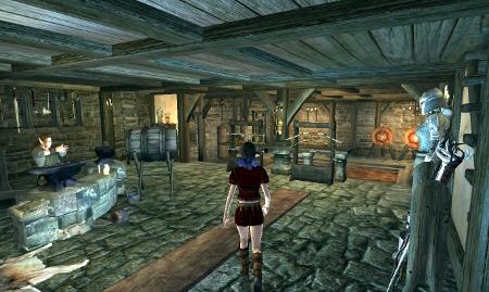 鍛冶屋と練習場