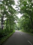 サロマ湖畔の道
