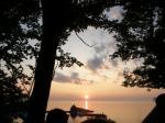 夕陽台の夕陽1