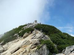 駒ヶ岳頂上