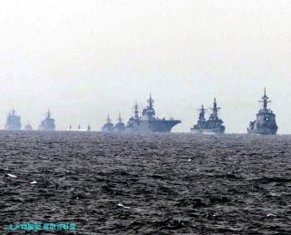 観艦式予行の舞鶴所属艦 2