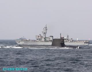 観艦式予行の舞鶴所属艦 3