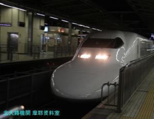 名古屋駅 N700と700の新幹線 5