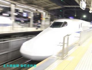 名古屋駅 N700と700の新幹線 8