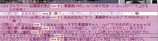 黒薔薇160
