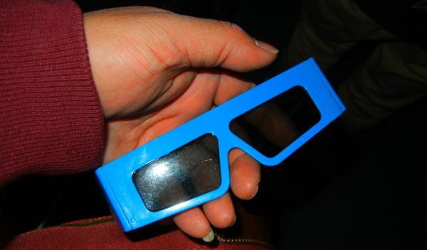 3Dメガネ ^^;