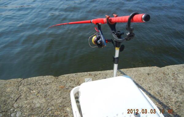 10:46 釣り開始 ・・・