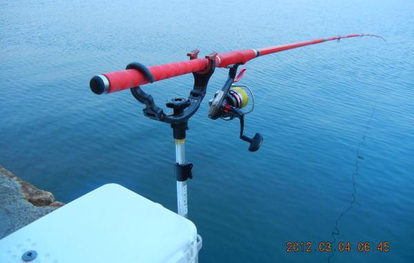 6:45 釣り開始 ♪