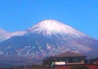 1月7日富士山