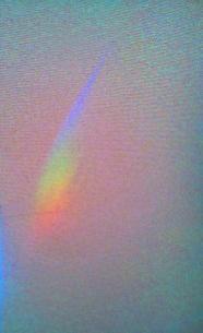 立春大吉の日の虹