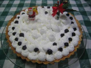 クリスマスケーキ タルト