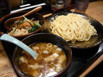 神保町「つけ麺 さとう」2