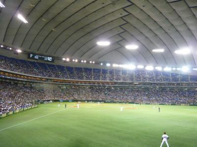 東京ドーム外野席1