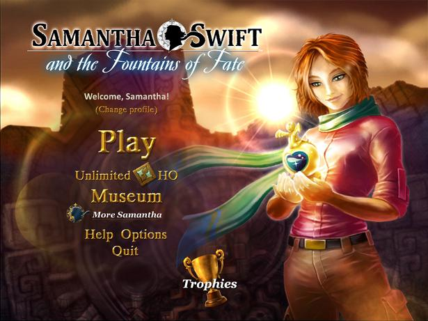 Samantha Swift Fountains of Fate