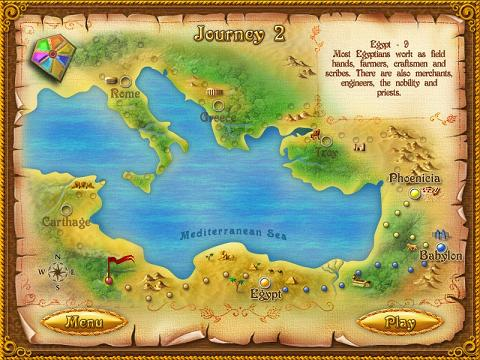 the rise of atlantis map