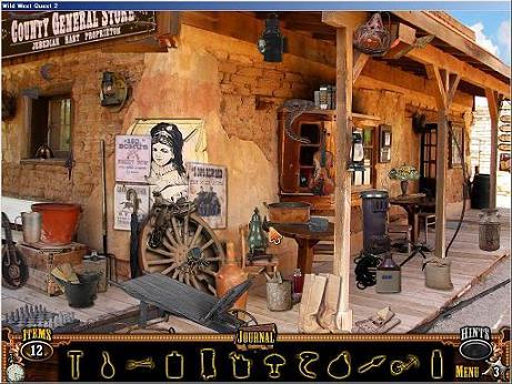 Wild West Quest 2 Puzzle 01