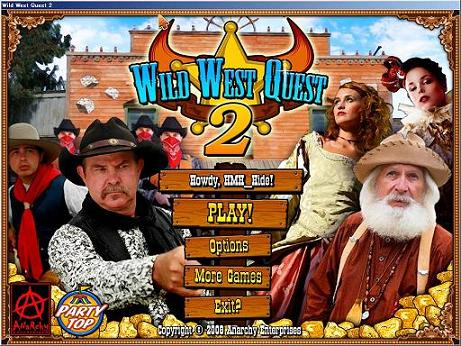 Wild West Quest 2 Title