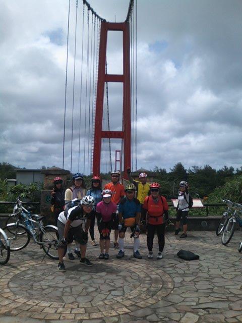 福隆の自転車専用吊り橋