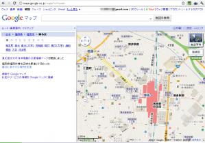 Googleマップ 最初の画面_修正済
