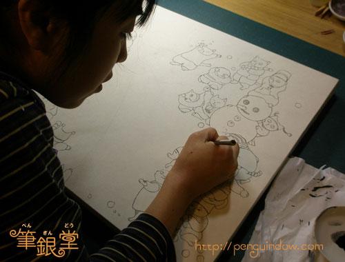 雪合戦制作中20120127