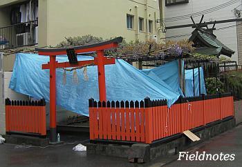 大阪市福島区の春日神社
