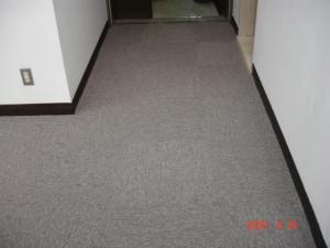 タイルカーペット、玄関