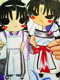 蛮骨×帝(人形ver)