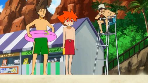 バトルスピリッツ 少年突破バシン 第38話「プールでループ・激流」