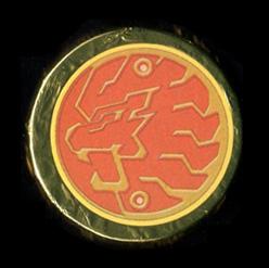 仮面ライダーオーズ オーメダルチョコ ライオン・コアメダル