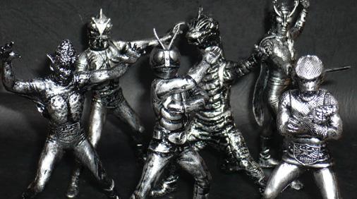 HG仮面ライダー シルバーブロンズバージョン Ver,B
