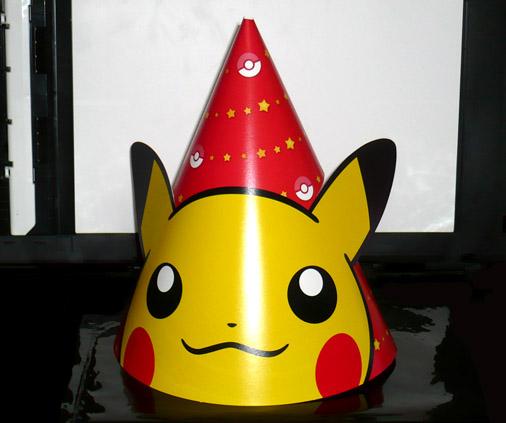 ポケモンセンター クリスマスパーティ帽子