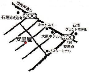 安里屋地図