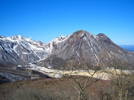 登山道からの三俣山CIMG0130