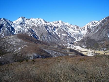 登山道からの中岳方面CIMG0139