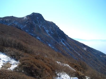 段原から大船山を望むCIMG0157