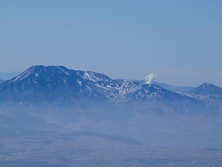 大船山山頂から阿蘇高岳中岳P2213155