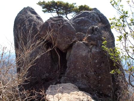第一展望地の巨石P3253243