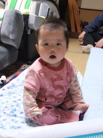 2011.3.21 梨緒ちゃん(8ヶ月) 002