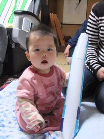 2011.3.21 梨緒ちゃん(8ヶ月) 004