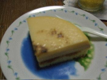 8:14プリンケーキ